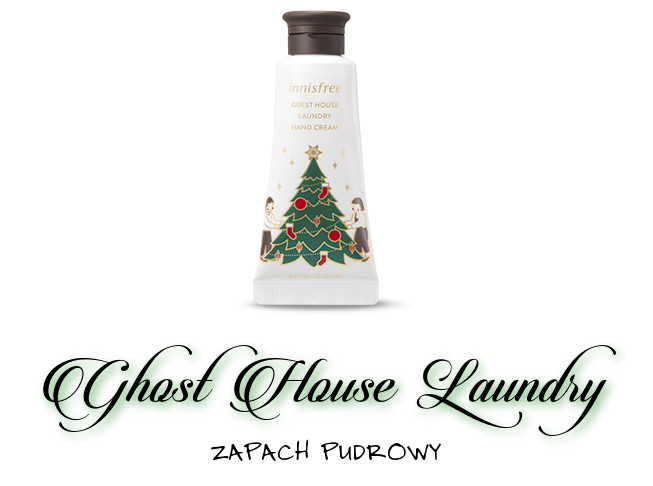 Innisfree 2018 Green Christmas Limited Edition Perfumed Hand Cream Miniature Set Ghost House Laundry