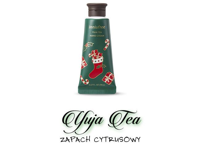 Innisfree 2018 Green Christmas Limited Edition Perfumed Hand Cream Miniature Set Yuja Tea