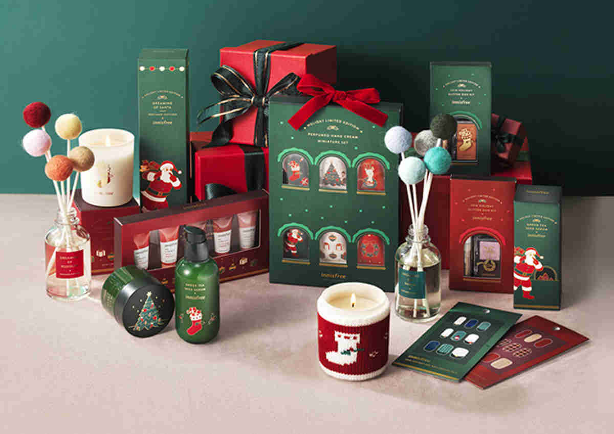 Innisfree 2018 Green Christmas Limited Edition