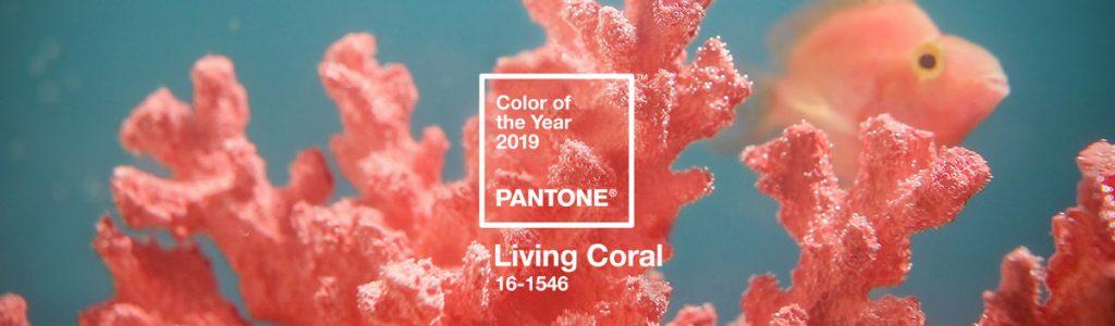 Living Coral - kolor roku 2019 Instytutu Koloru Pantone