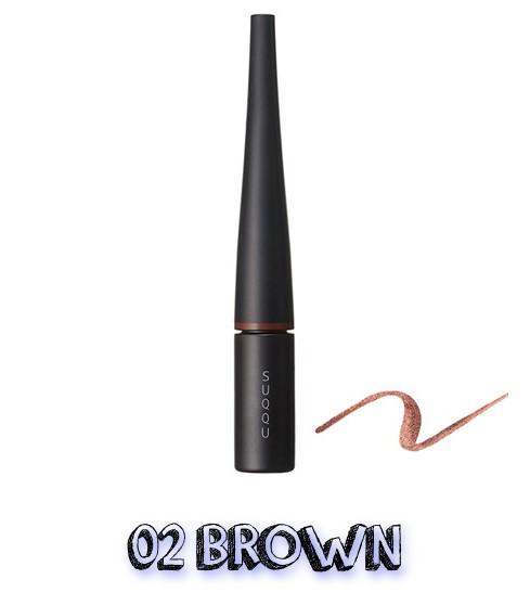 SUQQU Spring 2019 Color Collection Color Ink Liquid Eyeliner 02 Brown