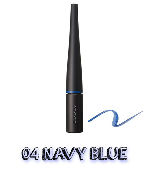 SUQQU Spring 2019 Color Collection Color Ink Liquid Eyeliner 04 Navy Blue