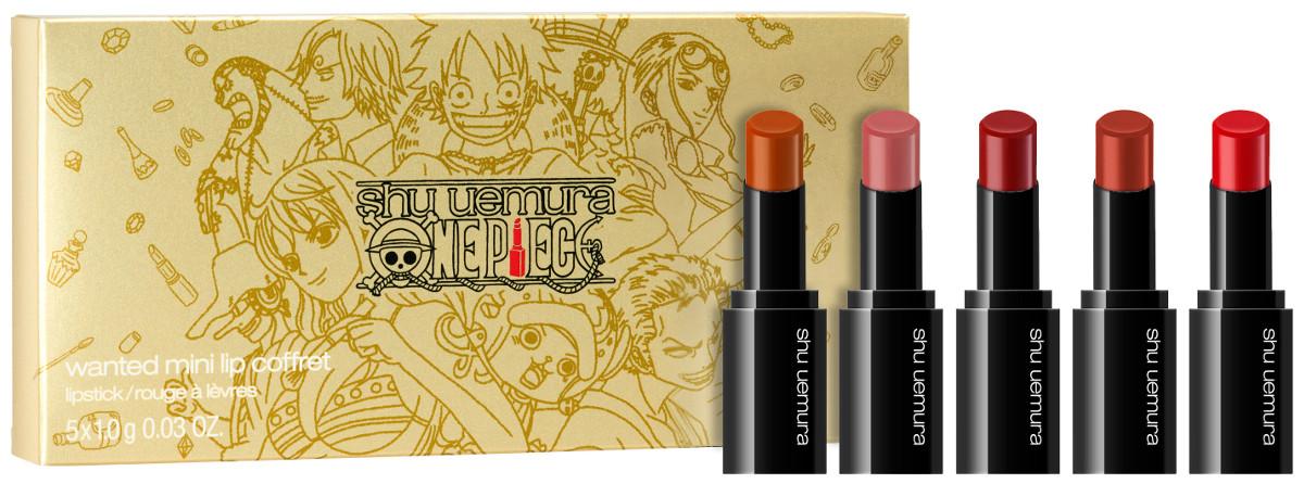 Shu Uemura One Piece Holiday Collection 2020 Wanted Mini Lip Coffret