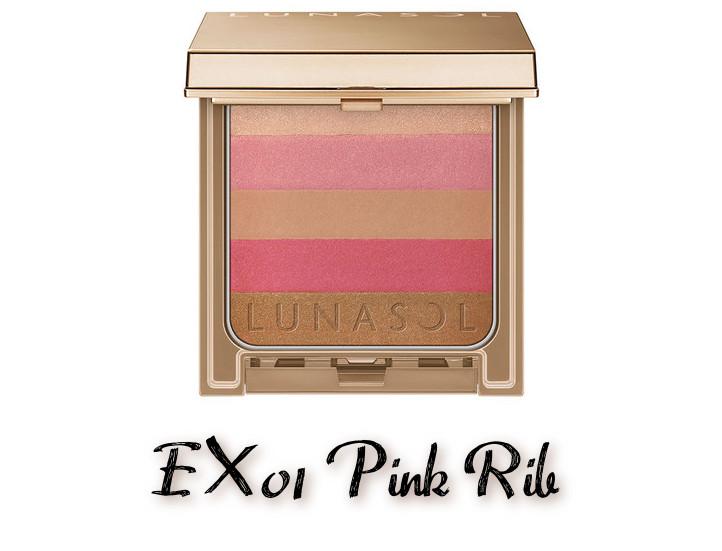 LUNASOL 2020 Autumn Collection New Chic Chic Conscious Blender EX01 Pink Rib