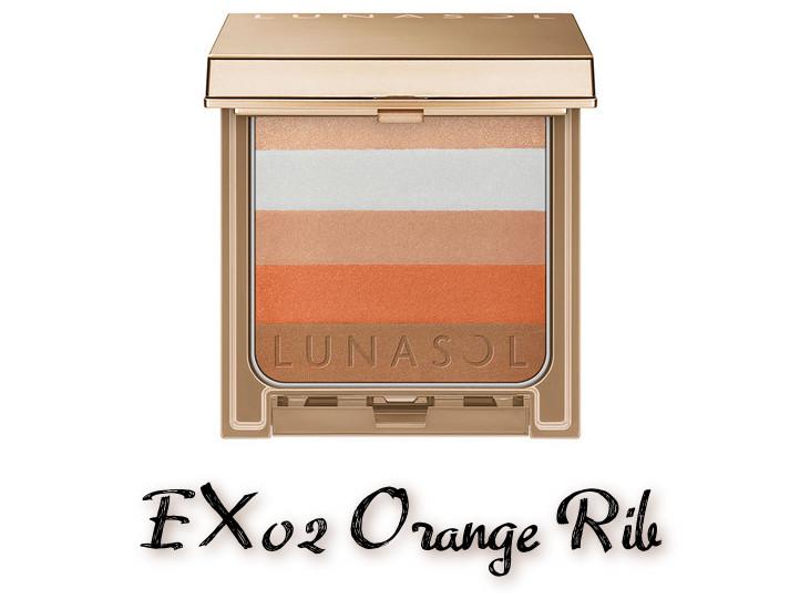 LUNASOL 2020 Autumn Collection New Chic Chic Conscious Blender EX02 Orange Rib