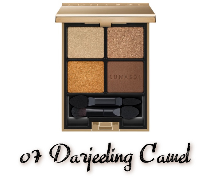 LUNASOL 2020 Autumn Collection New Chic Eye Coloration 07 Darjeeling Camel