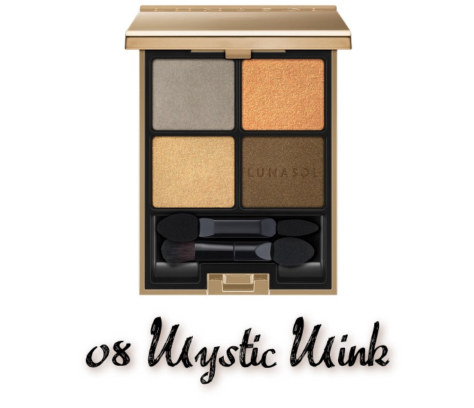 LUNASOL 2020 Autumn Collection New Chic Eye Coloration 08 Mystic Mink