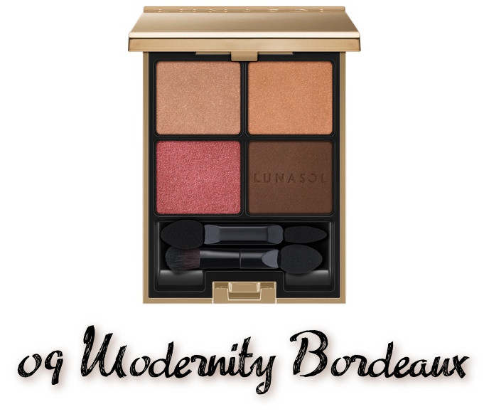 LUNASOL 2020 Autumn Collection New Chic Eye Coloration 09 Modernity Bordeaux