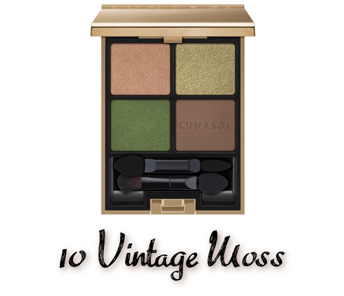 LUNASOL 2020 Autumn Collection New Chic Eye Coloration 10 Vintage Moss