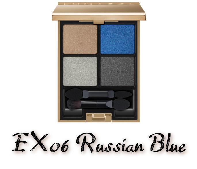 LUNASOL 2020 Autumn Collection New Chic Eye Coloration EX06 Russian Blue