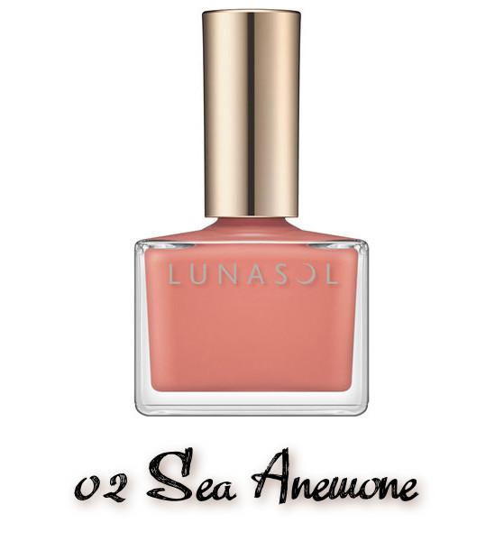 LUNASOL 2020 Autumn Collection New Chic Nail Polish 02 Sea Anemone