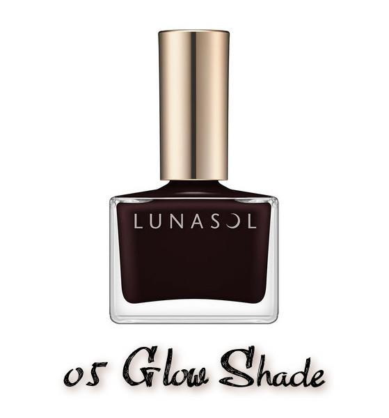 LUNASOL 2020 Autumn Collection New Chic Nail Polish 05 Glow Shade