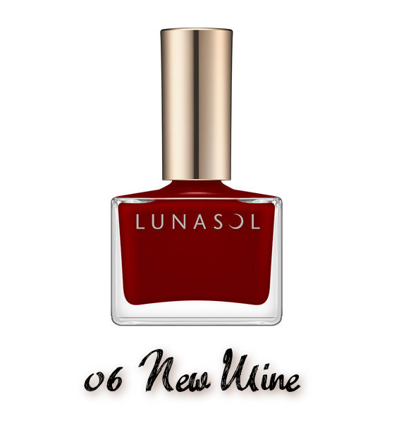 LUNASOL 2020 Autumn Collection New Chic Nail Polish 06 New Mine