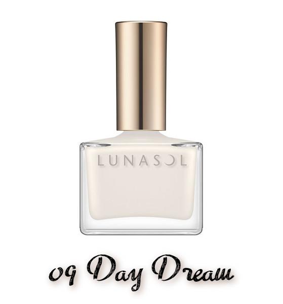 LUNASOL 2020 Autumn Collection New Chic Nail Polish 09 Day Dream