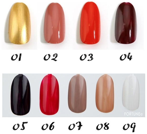 LUNASOL 2020 Autumn Collection New Chic Nail Polish swatche