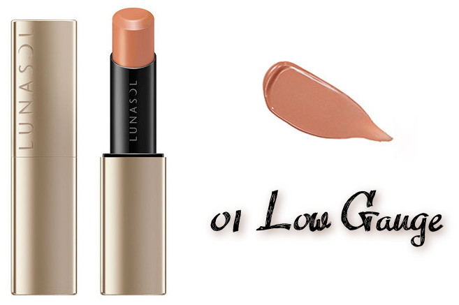 LUNASOL 2020 Autumn Collection New Chic Plump Mellow Lips 01 Low Gauge