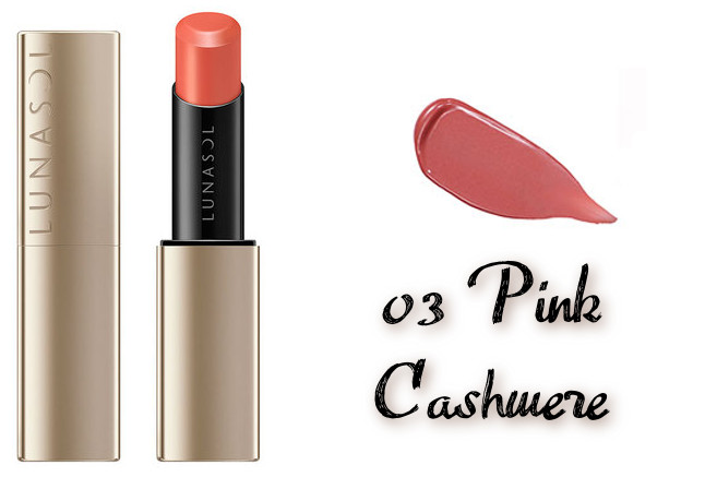 LUNASOL 2020 Autumn Collection New Chic Plump Mellow Lips 03 Pink Cashmere