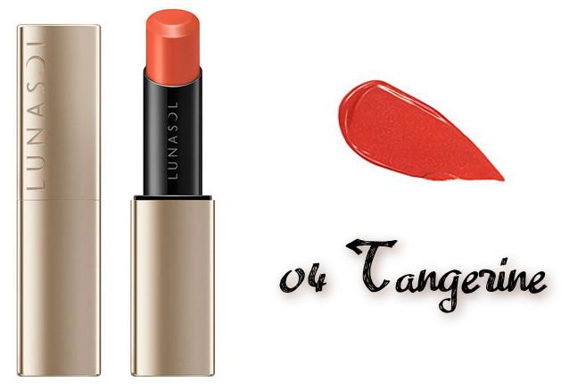 LUNASOL 2020 Autumn Collection New Chic Plump Mellow Lips 04 Tangerine