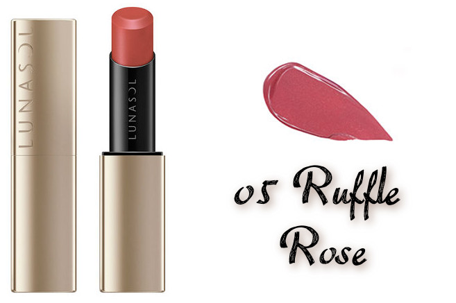 LUNASOL 2020 Autumn Collection New Chic Plump Mellow Lips 05 Ruffle Rose