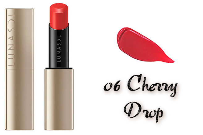 LUNASOL 2020 Autumn Collection New Chic Plump Mellow Lips 06 Cherry Drop