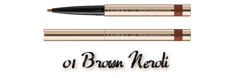 LUNASOL 2020 Autumn Collection New Chic Secret Shaper For Eyes 01 Brown Neroli