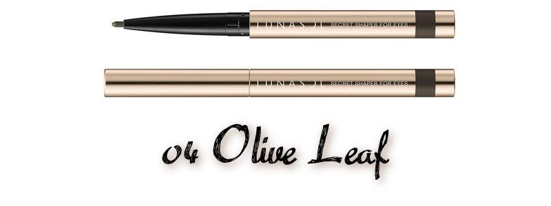 LUNASOL 2020 Autumn Collection New Chic Secret Shaper For Eyes 04 Olive Leaf