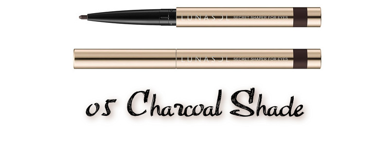 LUNASOL 2020 Autumn Collection New Chic Secret Shaper For Eyes 05 Charcoal Shade