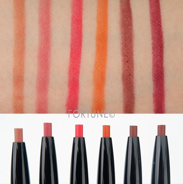 LUNASOL 2020 Autumn Collection New Chic Secret Shaper For Lips swatche
