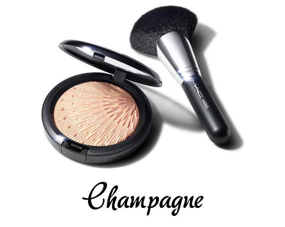 MAC 2020 Holiday Collection Frosted Firework Firelit Kit Champagne