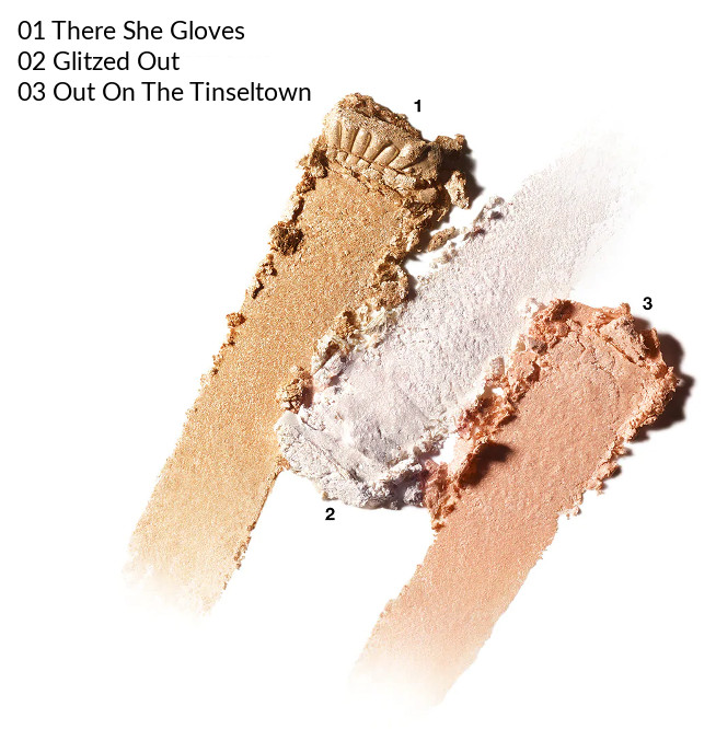 MAC 2020 Holiday Collection Frosted Firework Flashing Ice Extra Dimension Skinfinish Trio Light