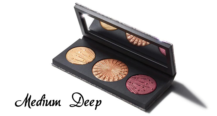 MAC 2020 Holiday Collection Frosted Firework Flashing Ice Extra Dimension Skinfinish Trio Medium Deep