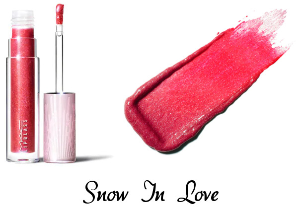 MAC 2020 Holiday Collection Frosted Firework Frosted Firework Lipglass Snow In Love