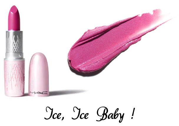 MAC 2020 Holiday Collection Frosted Firework Frosted Firework Lipstick Ice, Ice Baby