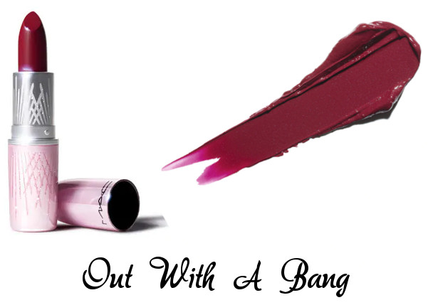 MAC 2020 Holiday Collection Frosted Firework Frosted Firework Lipstick Out With A Bang