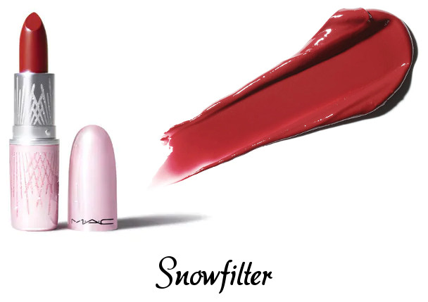 MAC 2020 Holiday Collection Frosted Firework Frosted Firework Lipstick Snowfilter