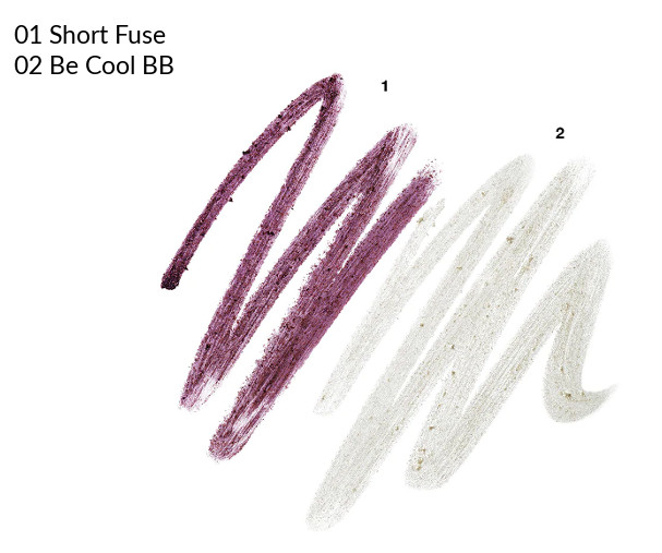 MAC 2020 Holiday Collection Frosted Firework Frosted Firework Powerpoint Eye Pencil Short Fuse, Be Cool BB