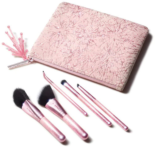 MAC 2020 Holiday Collection Frosted Firework Sparkler Starter Kit Brushes