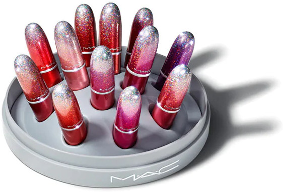 MAC 2020 Holiday Collection Frosted Firework Surefire Hit Mini Lipstick Vault