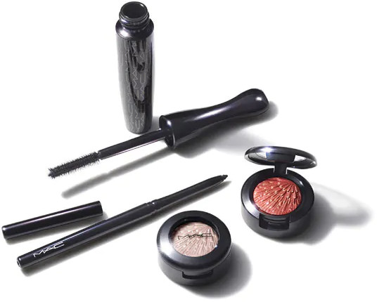 MAC 2020 Holiday Collection Frosted Firework WOW-Factor Eye Kit Copper