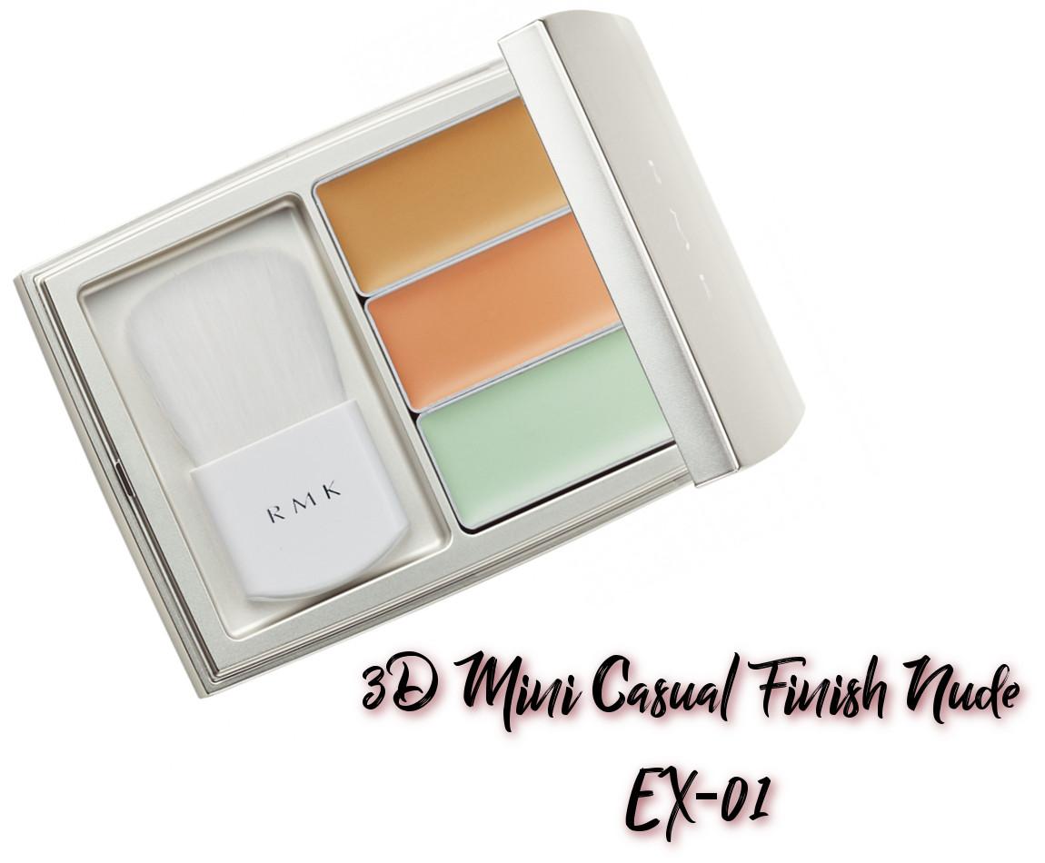 RMK x Erica Sakurazawa Clolor Closet Winter Limited Edition 2020 3D Mini Casual Finish Nude EX-01