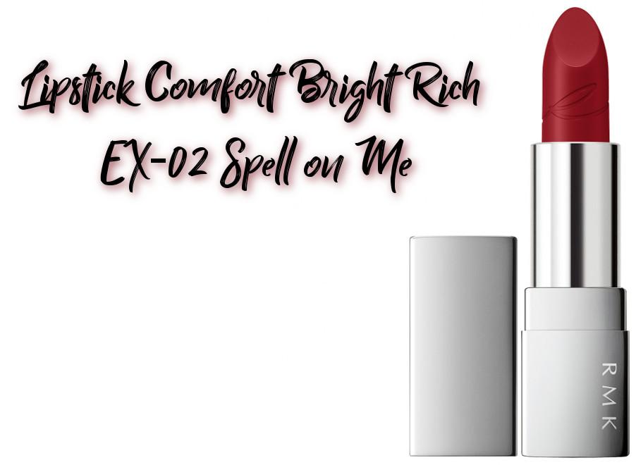 RMK x Erica Sakurazawa Clolor Closet Winter Limited Edition 2020 Lipstick Comfort Bright Rich EX-02 Spell on Me