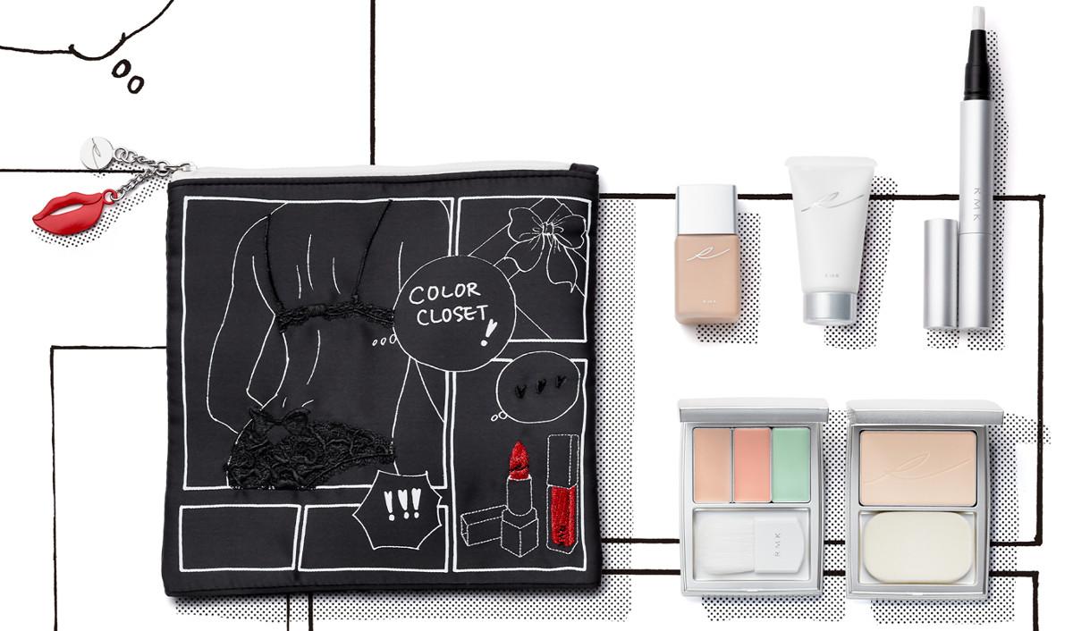 RMK x Erica Sakurazawa Clolor Closet Winter Limited Edition 2020 Pre-Makeup Mini Collection Kit