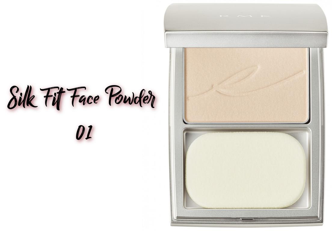 RMK x Erica Sakurazawa Clolor Closet Winter Limited Edition 2020 Silk Fit Face Powder 01