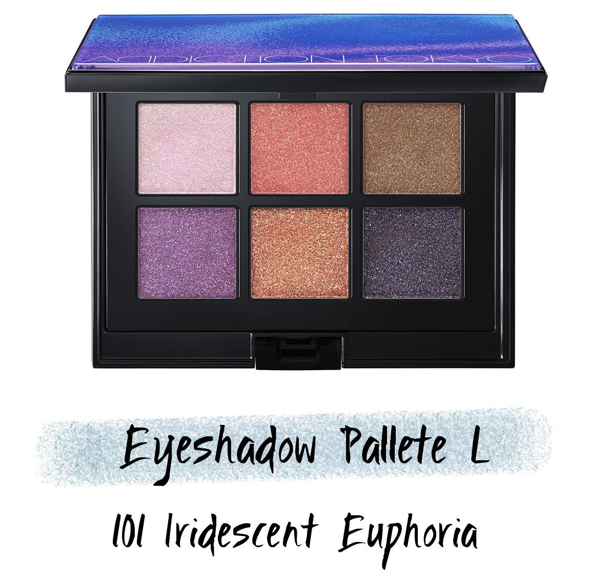 ADDICTION Holiday 2020 Collection IRIDESCENT EUPHORIA Holiday Addiction Iridescent Euphoria Eyeshadow Pallete L 101 Iridescent Euphoria