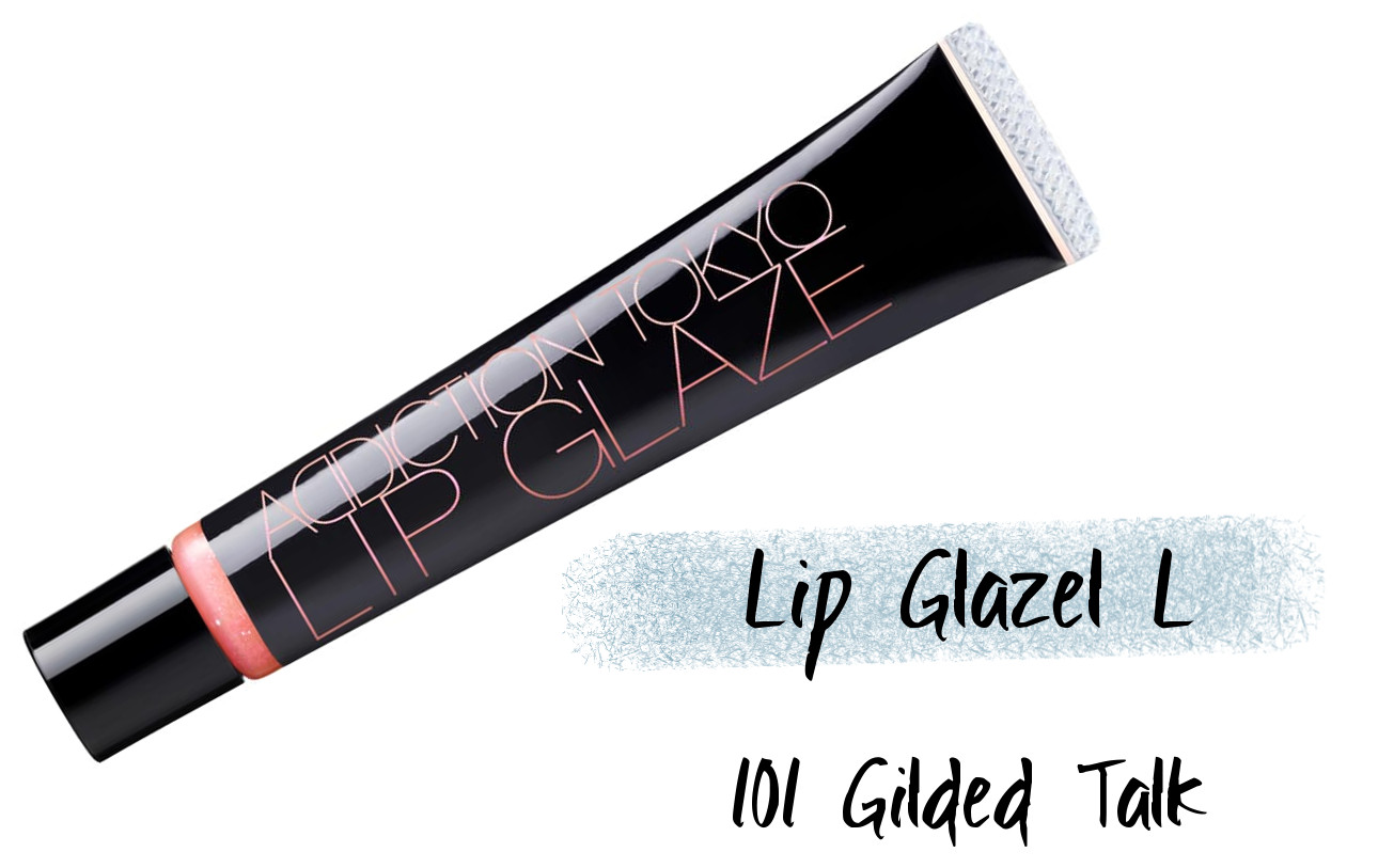 ADDICTION Holiday 2020 Collection IRIDESCENT EUPHORIA Holiday Addiction Iridescent Euphoria Lip Glazel 101 Gilded Talk