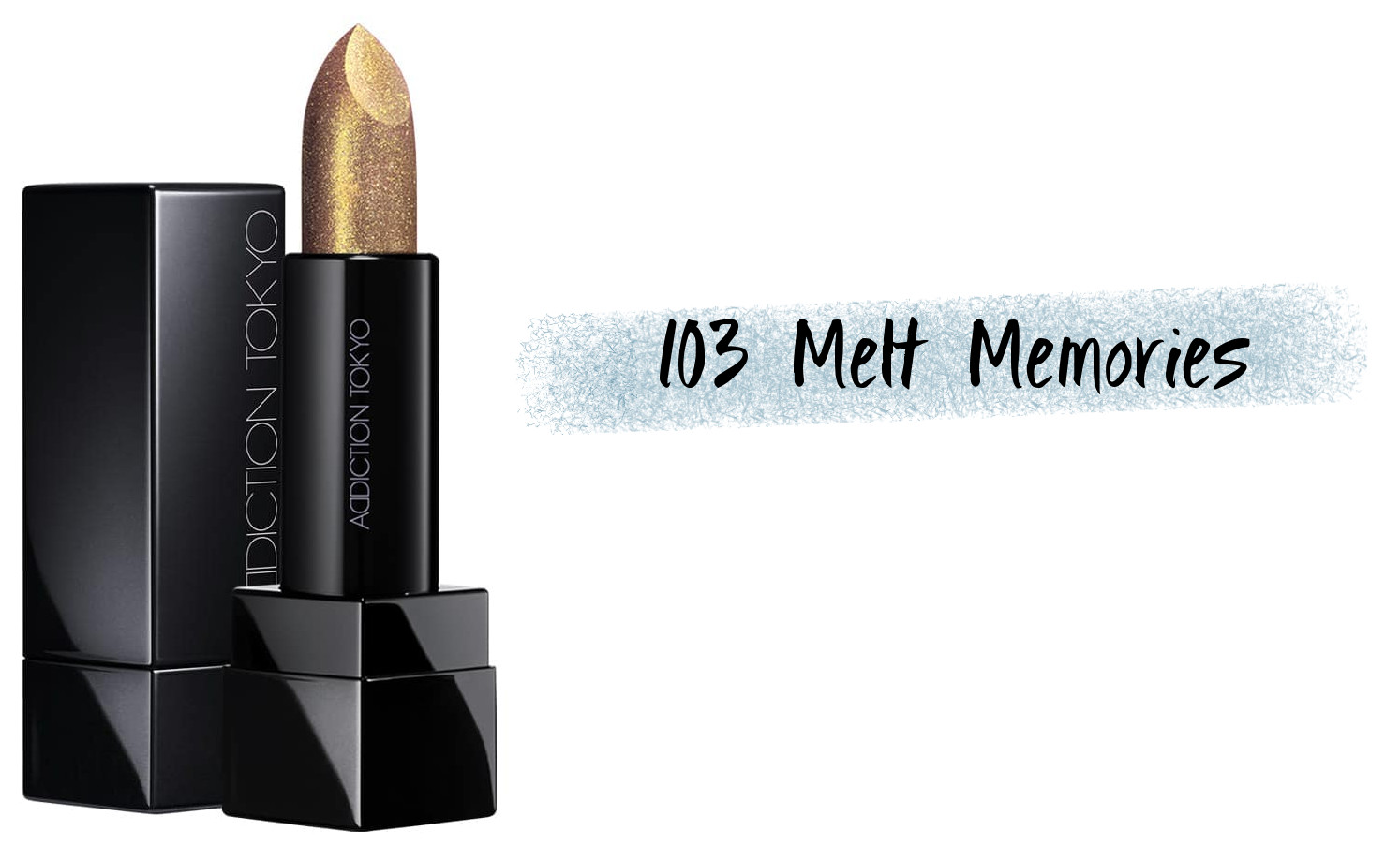 ADDICTION Holiday 2020 Collection IRIDESCENT EUPHORIA The Lipstick Sheer Iridescent Euphoria 103 Melt Memories