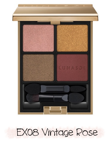 LUNASOL 2020 Winter Collection Merging Addict Eye Coloration EX08 Vintage Rose