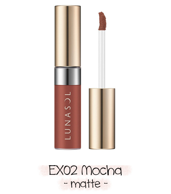 LUNASOL 2020 Winter Collection Merging Addict Holiday Lip Kit B EX02 Mocha