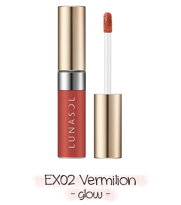 LUNASOL 2020 Winter Collection Merging Addict Holiday Lip Kit B EX02 Vermilion