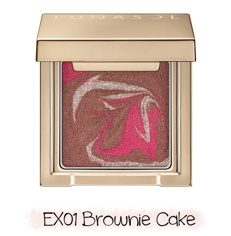 LUNASOL 2020 Winter Collection Merging Addict Merging Color Eyes EX01 Brownie Cake